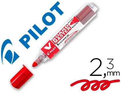 (52E) ROTULADOR PILOT VBOARD MASTER PARA PIZARRA BLANCA ROJO TINTA LIQUIDA P96