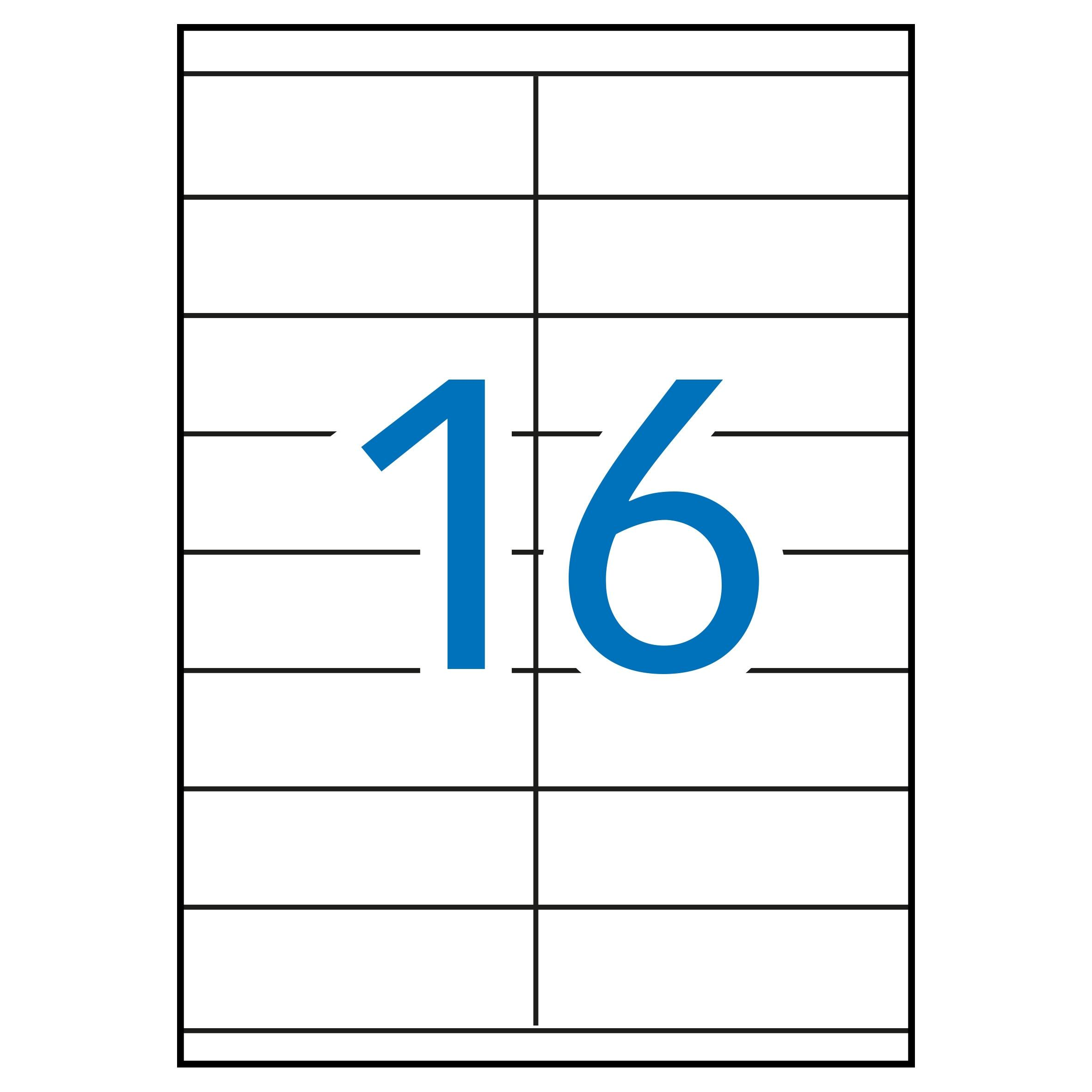 (52) ETIQUETAS INKJET LASER Y COPY 105X35