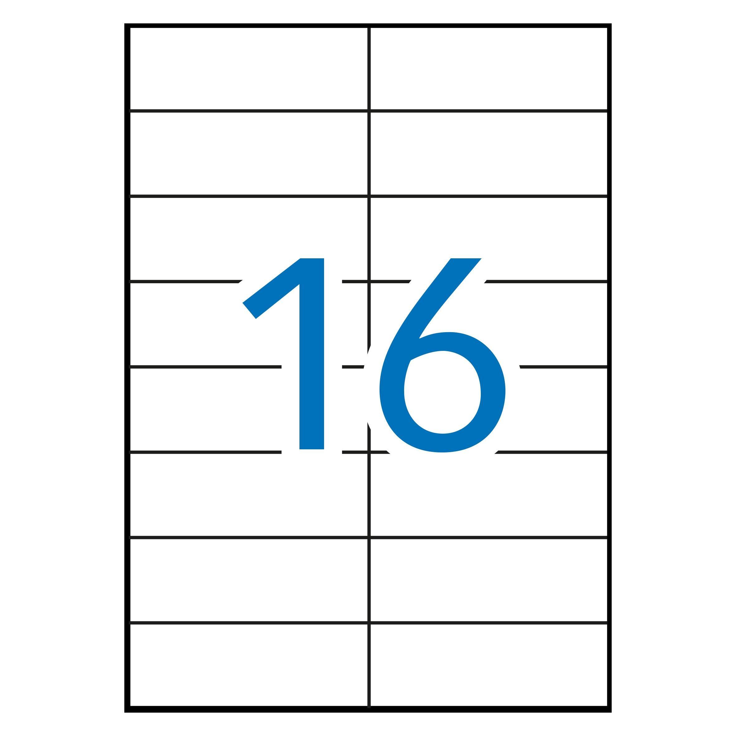 (52T) ETIQUETAS INKJET LASER Y COPY 105X37