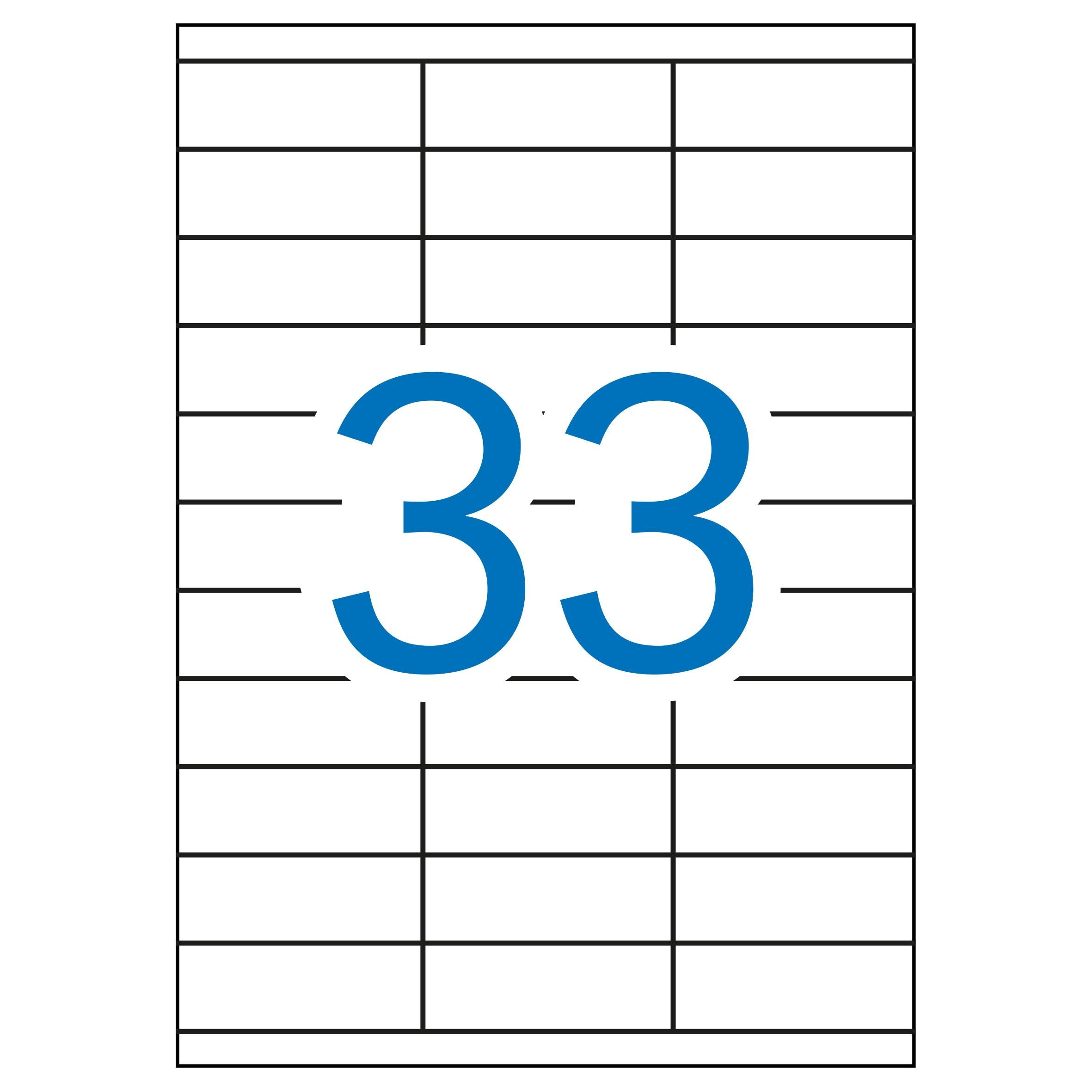 (52T) ETIQUETAS INKJET LASER Y COPY 70X25,4