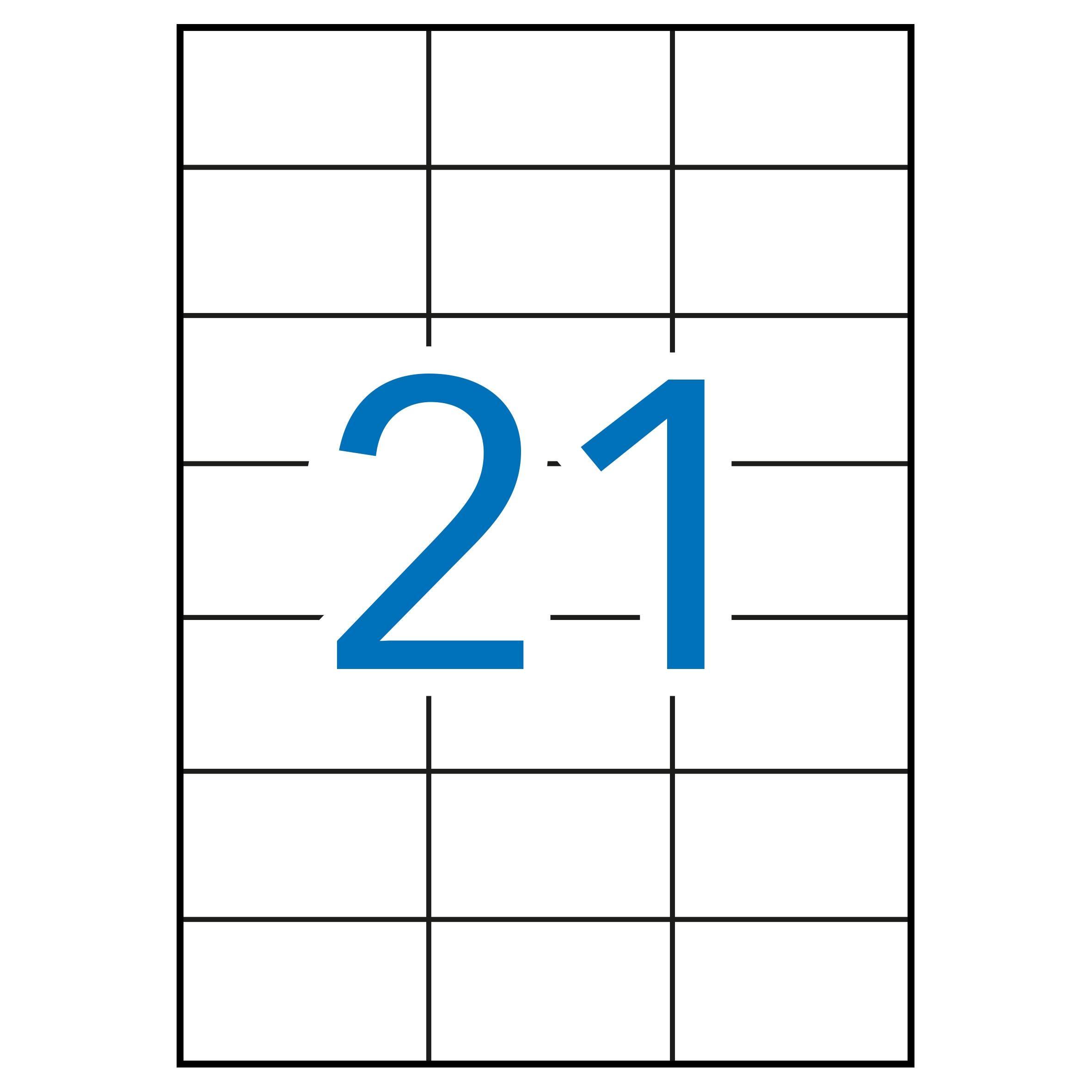 (52T) ETIQUETAS INKJET LASER Y COPY 70X42,4