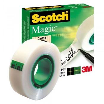CINTA ADHESIVA SCOTCH MAGIC19MMX33M