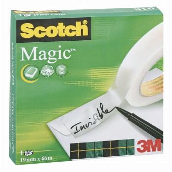 CINTA ADHESIVA SCOTCH MAGIC19MMX66M