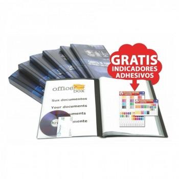 CARPETA DE FUNDAS PERSONALIZABLE OFFICE BOX A4