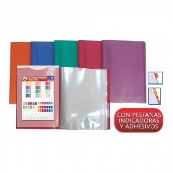 CARPETA DE FUNDAS OFFICE BOX SUPRA PERSONALIZABLE PORTADA Y CONTRA PP A4+