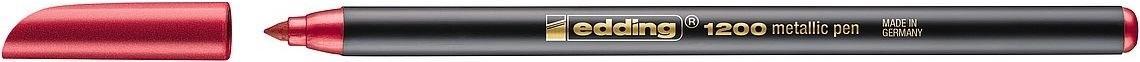 (49T) ROTULADOR EDDING 1200-072 METALICO ROJO