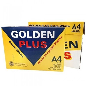 PAPEL FOTOCOPIADORA GOLDEN PLUS EXTRA BLANCO A4 80GR