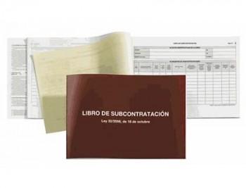 LIBRO DE SUBCONTRATACION A-4 APAISADO