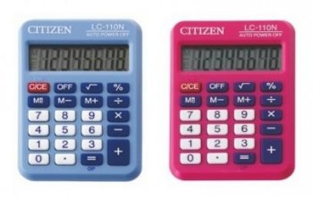 CALCULADORA CITIZEN BOLSILLO LC-110