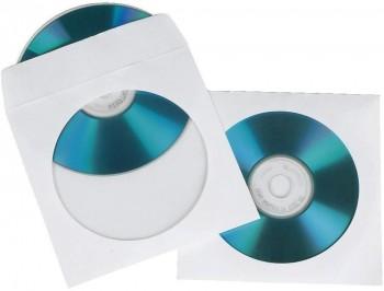 FELLOWES CAJA DE 50 SOBRES BLANCOS PARA CDS