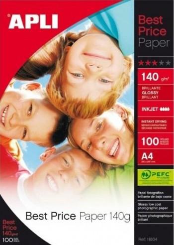 PAPEL GLOSSY BEST PRICE PAPER 140 GRAMOS 100 HOJAS