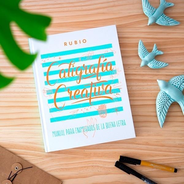 (20T) CALIGRAFIA CREATIVA 1 EDITORIAL RUBIO LETTERING