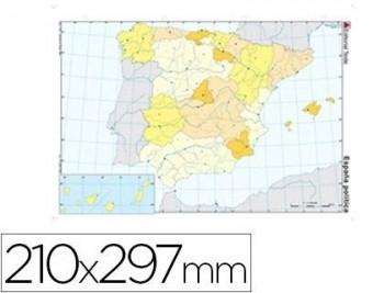 MAPA MUDO POLITICO ESPAÑA