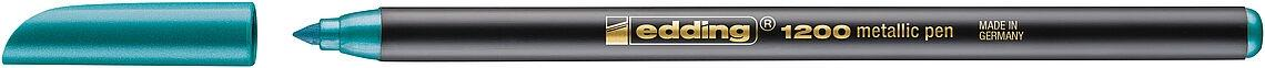 (49T) ROTULADOR EDDING 1200-074 METALICO VERDE