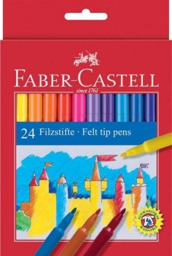 ROTULADOR PUNTA DE FIBRA FABER-CASTELL ESTUCHE 24