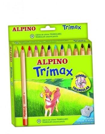 LAPICERO ALPINO TRIMAX 12 COLORES