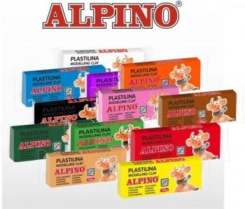 PLASTILINA ALPINO COLORES SURTIDOS 50 GR