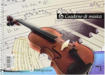 BLOCK MUSICA 4º 6 PENTAGRAMAS