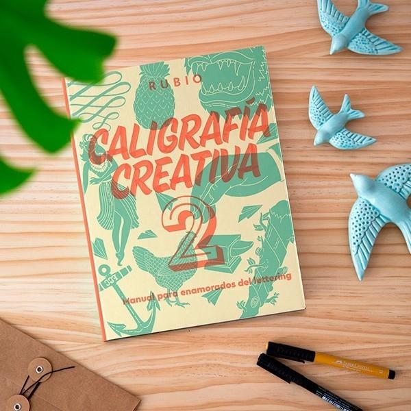 (20T) CALIGRAFIA CREATIVA 2 EDITORIAL RUBIO LETTERING
