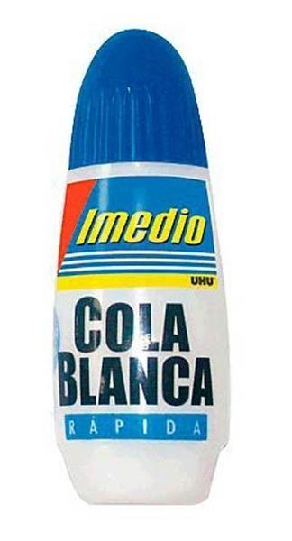 COLA BLANCA 100 GRAMOS IMEDIO BY UHU