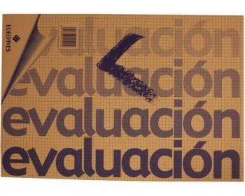 BLOC DE EVALUACION 50H CUADRICULA EDELVIVES