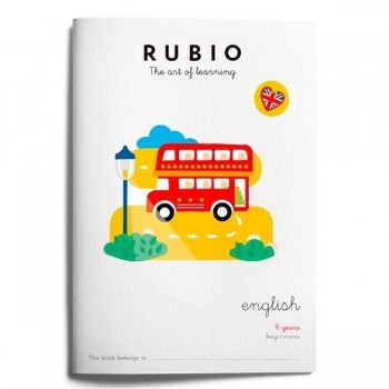 CUADERNO RUBIO 6 YEARS BEGINNERS
