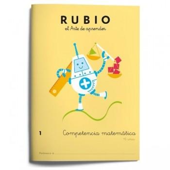 CUADERNO RUBIO COMPETENCIA MATEMATICA 1 (+6 AÑOS)