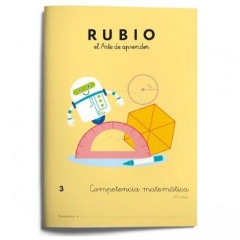 CUADERNO RUBIO COMPETENCIA MATEMÁTICA 3 (+8 AÑOS)