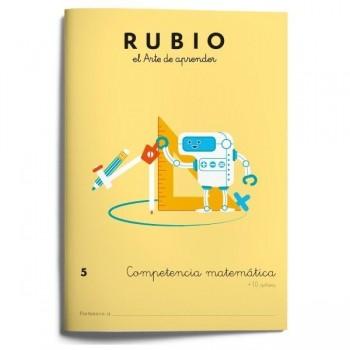CUADERNO RUBIO COMPETENCIA MATEMÁTICA 5 (+10 AÑOS)