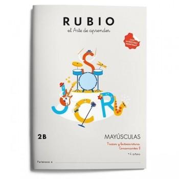 CUADERNO RUBIO MAYÚSCULAS 2B