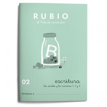 CUADERNO RUBIO CUADERNOS ESCRITURA 02. RUBIO