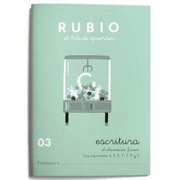 CUADERNO RUBIO CUADERNOS ESCRITURA 03. RUBIO