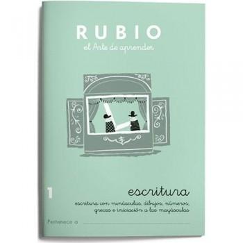 CUADERNO RUBIO CUADERNOS ESCRITURA 1. RUBIO