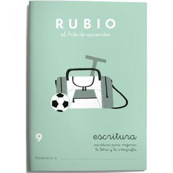 CUADERNO RUBIO CUADERNOS ESCRITURA 9. RUBIO