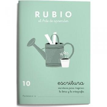 CUADERNO RUBIO CUADERNOS ESCRITURA 10. RUBIO
