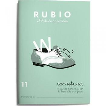 CUADERNO RUBIO CUADERNOS ESCRITURA 11. RUBIO