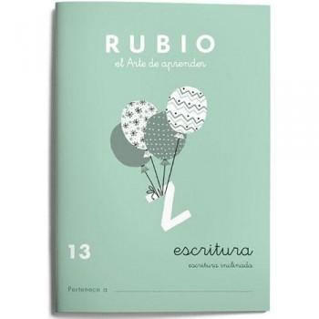 CUADERNO RUBIO CUADERNOS ESCRITURA 13. RUBIO