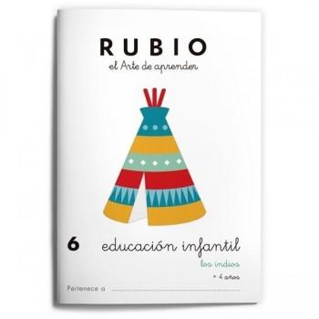 CUADERNO RUBIO EDUCACION INFANTIL 6. RUBIO
