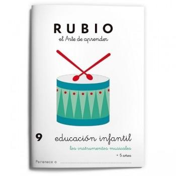 CUADERNO RUBIO EDUCACION INFANTIL 9. RUBIO