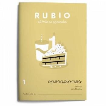 CUADERNO RUBIO CUADERNOS OPERACIONES 1. RUBIO
