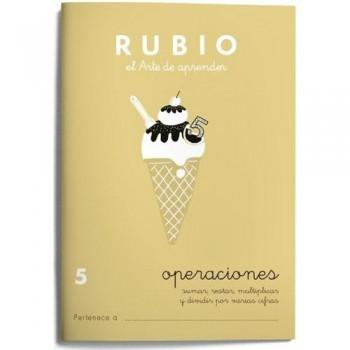 CUADERNO RUBIO CUADERNOS OPERACIONES 5. RUBIO