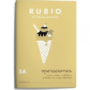 CUADERNO RUBIO CUADERNOS OPERACIONES 5-A. RUBIO