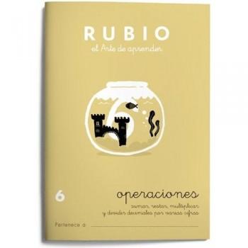 CUADERNO RUBIO CUADERNOS OPERACIONES 6. RUBIO