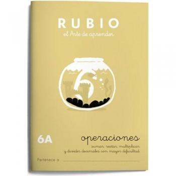 CUADERNO RUBIO CUADERNOS OPERACIONES 6-A. RUBIO