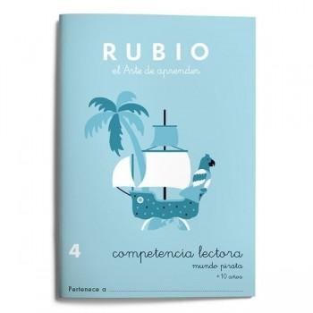 CUADERNO RUBIO COMPETENCIA LECTORA 4 - MUNDO PIRATA