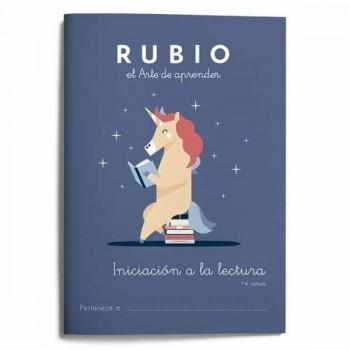 CUADERNO RUBIO INICIACIÓN A LA LECTURA +4
