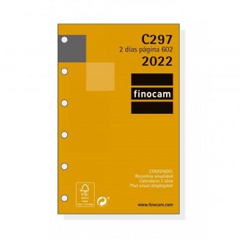 RECAMBIO ANUAL 2022 FINOCAM 73X114X9 2D/P C297