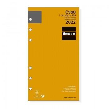 RECAMBIO ANUAL 2022 FINOCAM 94X171X18 1D/P C998