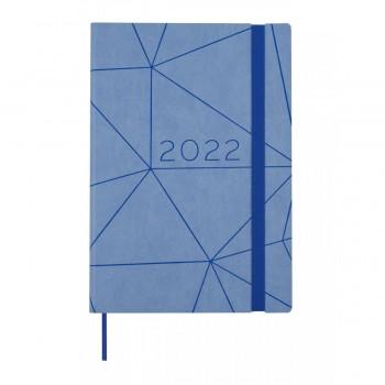 AGENDA ANUAL 2022 FINOCAM CASUAL 144X208X23 1D/P AZUL