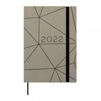 AGENDA ANUAL 2022 FINOCAM CASUAL 144X208X23 1D/P GRIS